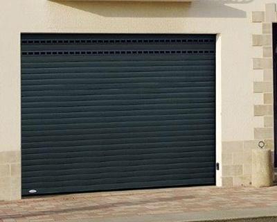 Porte de garage enroulable laquée