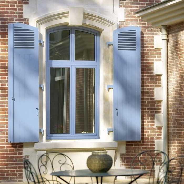 Fenêtre bois arc surbaissé 0
