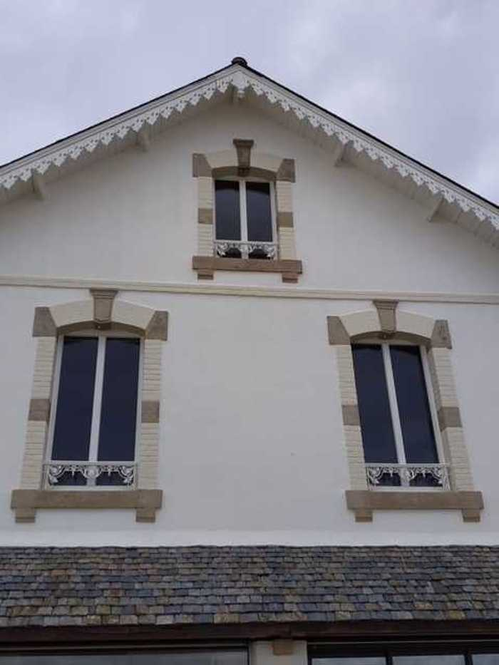 Menuiseries RFP blanc - Saint-Pierre Quiberon r19spq03