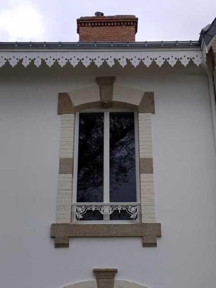 Menuiseries RFP blanc - Saint-Pierre Quiberon r19spq05