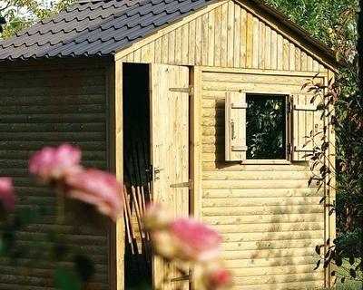 Abris jardin en bois