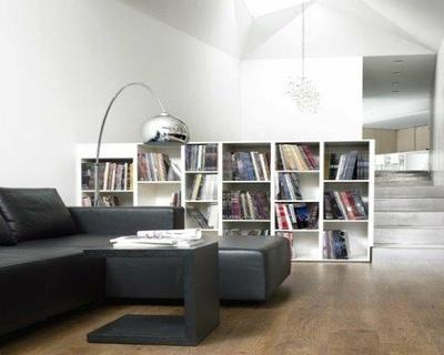 Bibliothèque en frêne blanc
