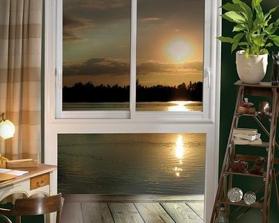 Fenêtre alu composée 2 vantaux coulissants sur allege