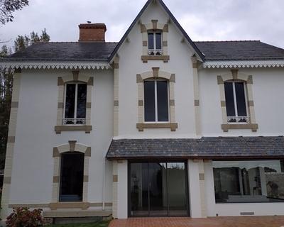 Menuiseries RFP blanc - Saint-Pierre Quiberon