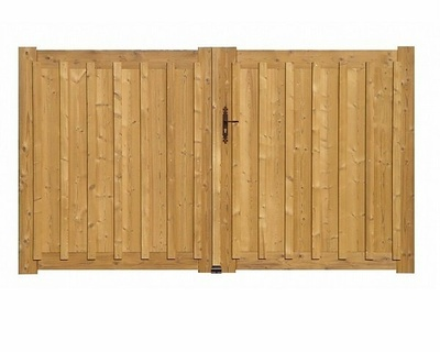 Portail bois modèle Andernos