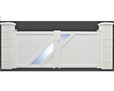 Portail PVC modèle Aurélia