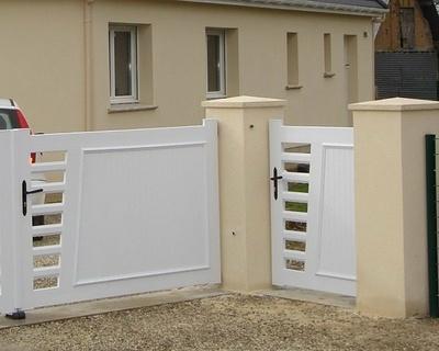Portail PVC modèle Long Beach