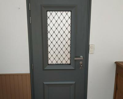 Porte d''entrée avec imposte vitré - Vannes (56)