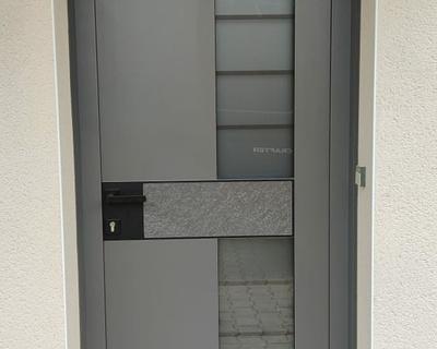 """Porte d''entrée Monalu modèle """"Samouraï"""""""