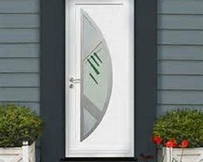 Porte d''entrée en PVC
