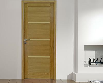 Porte intérieure Listel H - Chêne naturel natural wood