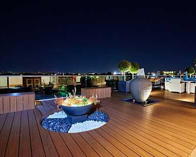 Terrasse composite modèle Soltéa Teck