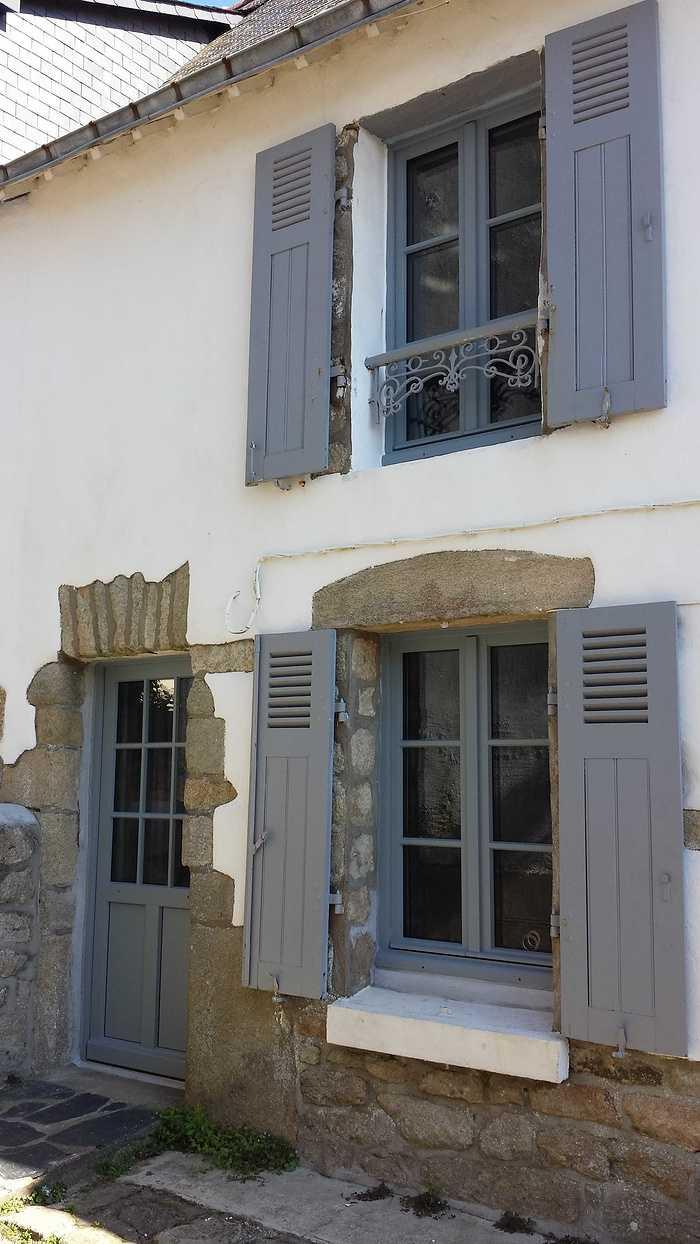 Porte d''entrée vitrée bois - Ville - Morbihan - 56 20160707102631