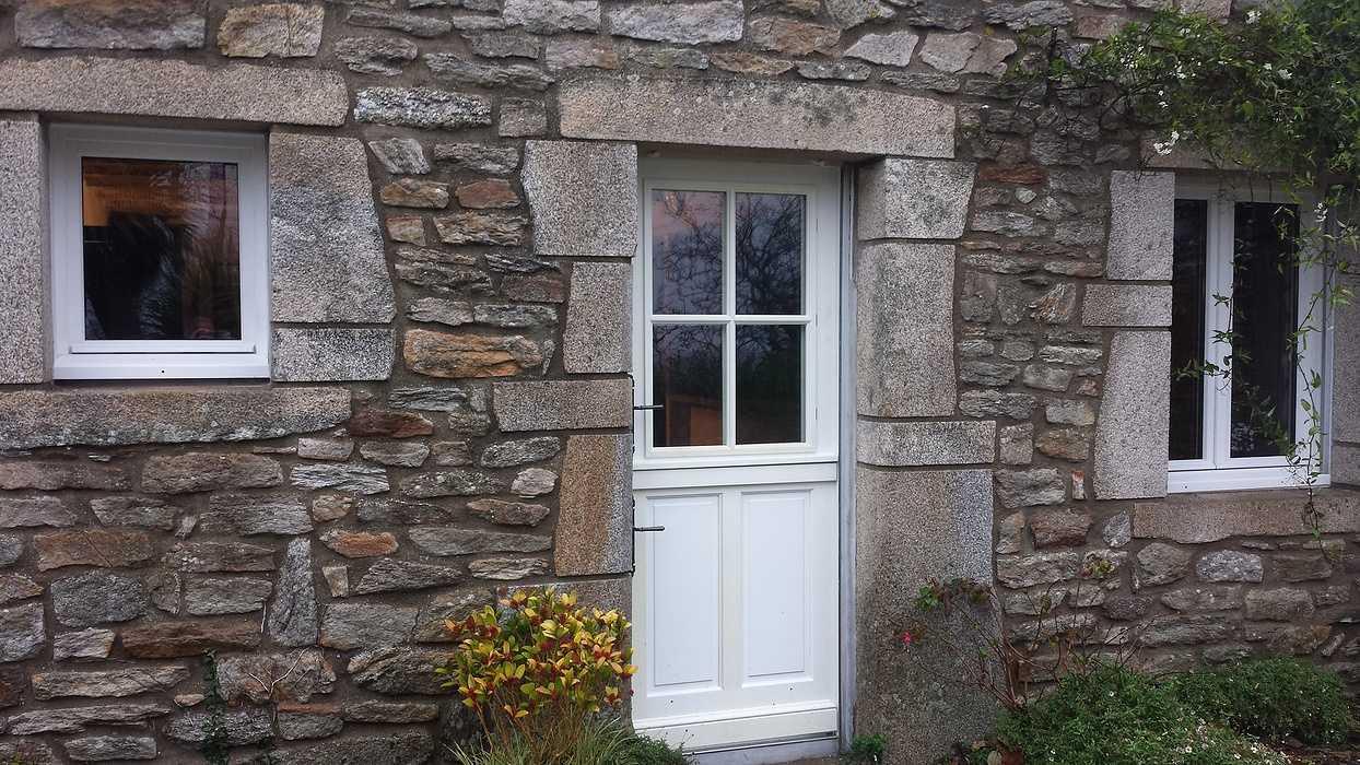 Porte d''entrée PVC - Morbihan - 56 0