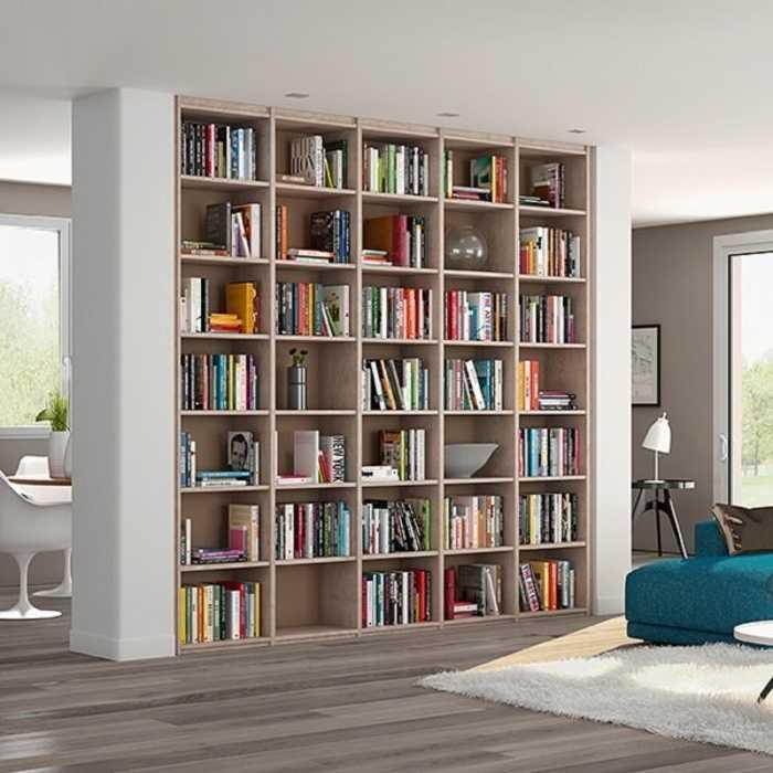 Bibliothèque beige 0