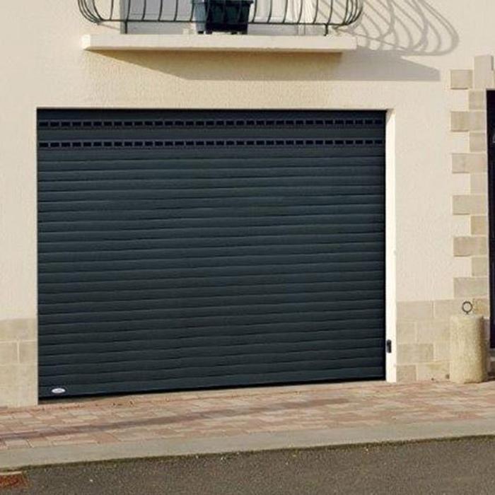Porte de garage enroulable laquée 0