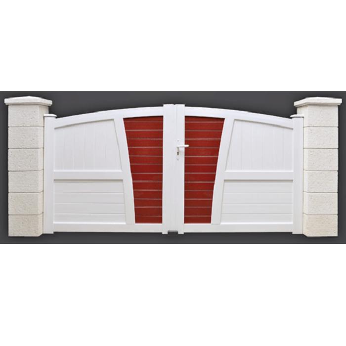 Portail PVC modèle Toscan 0