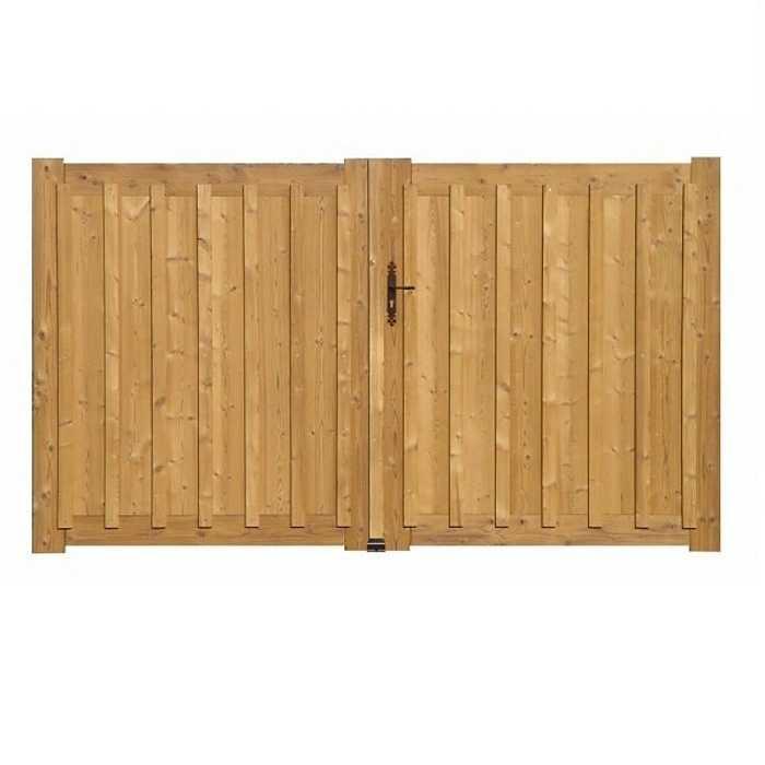 Portail bois modèle Andernos 0