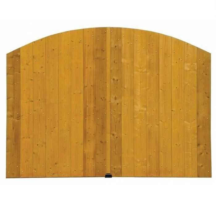 Portail bois modèle Argone 0