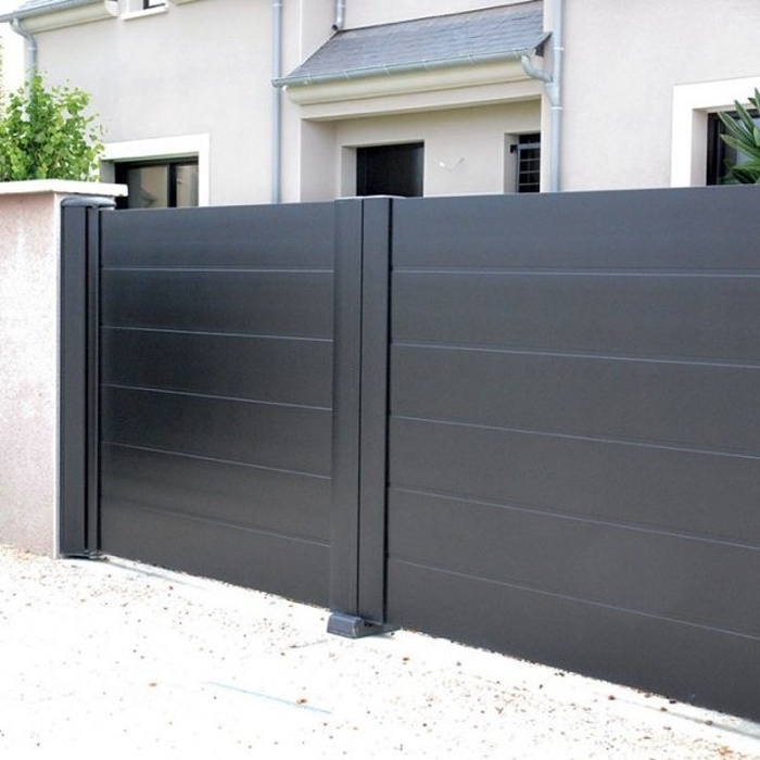 Portail aluminium modèle Boréal 0