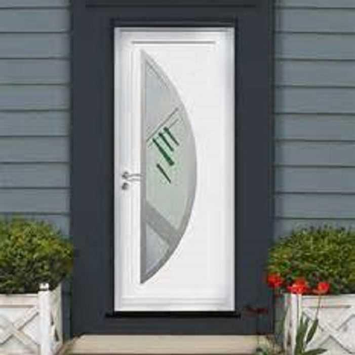Porte d''entrée en PVC 0