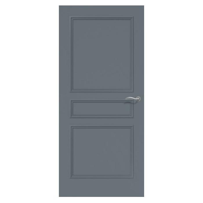 Porte palière blindée - en bois mouluré 0
