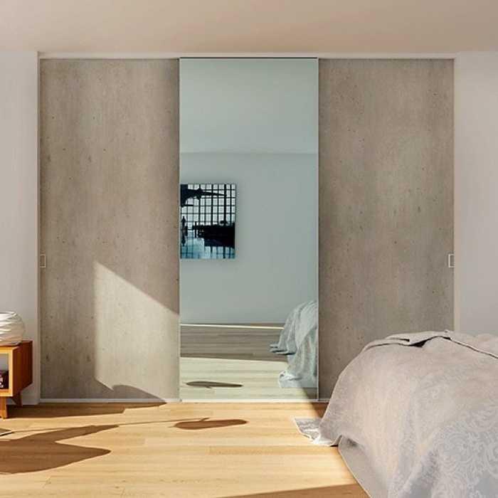 Façades coulissantes Trianon et miroir 0