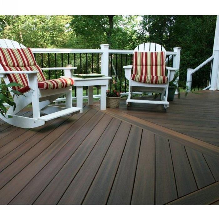 Terrasse composite Acorn brun 0