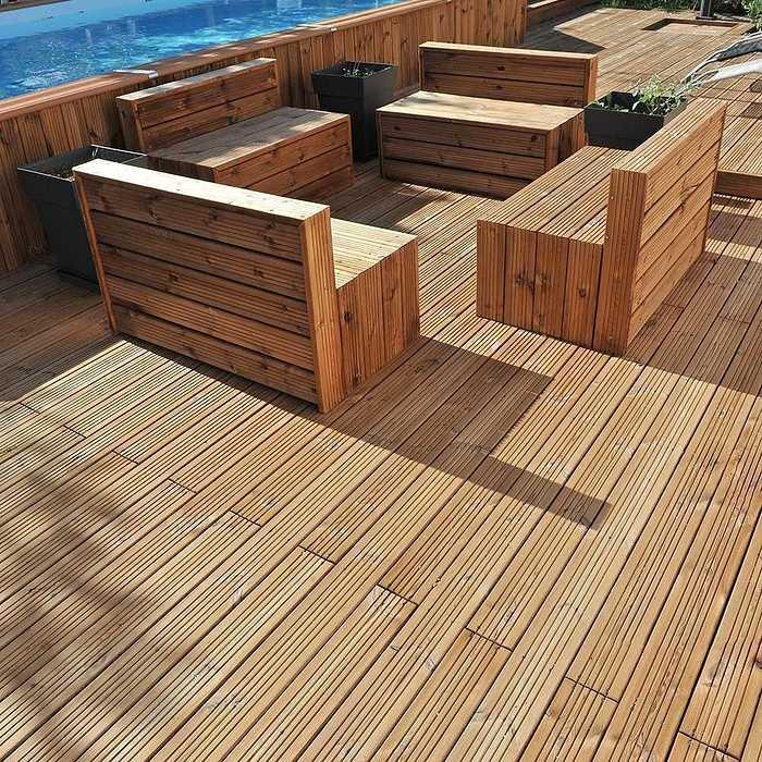 Terrasse en pin classe terrassepinclasse43