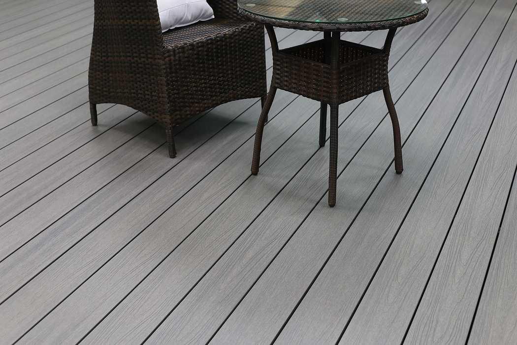Terrasse composite Soltéa gris béton 0