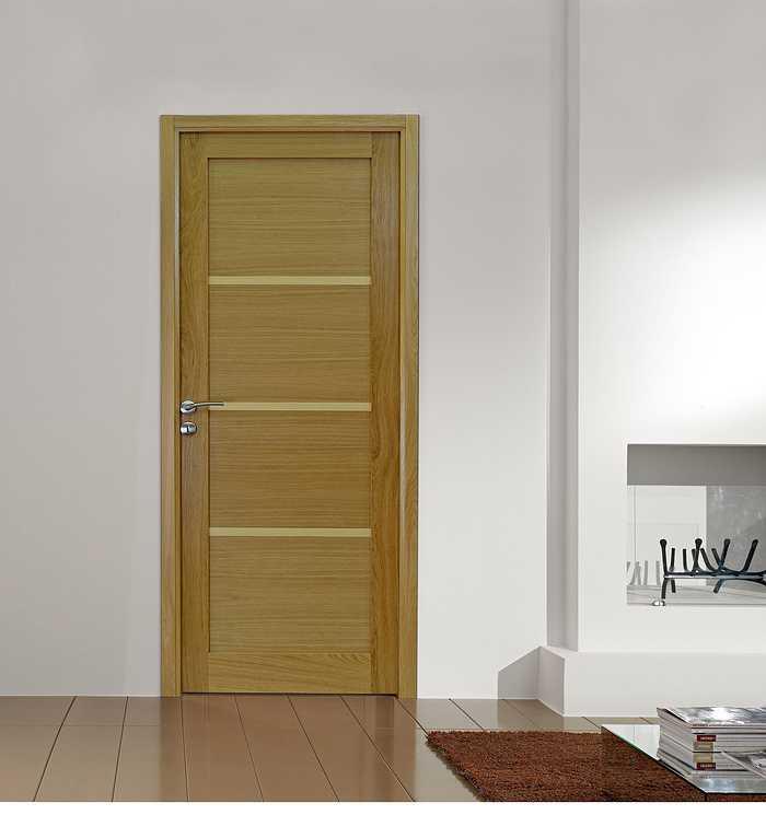 Porte intérieure Listel H - Chêne naturel natural wood 0
