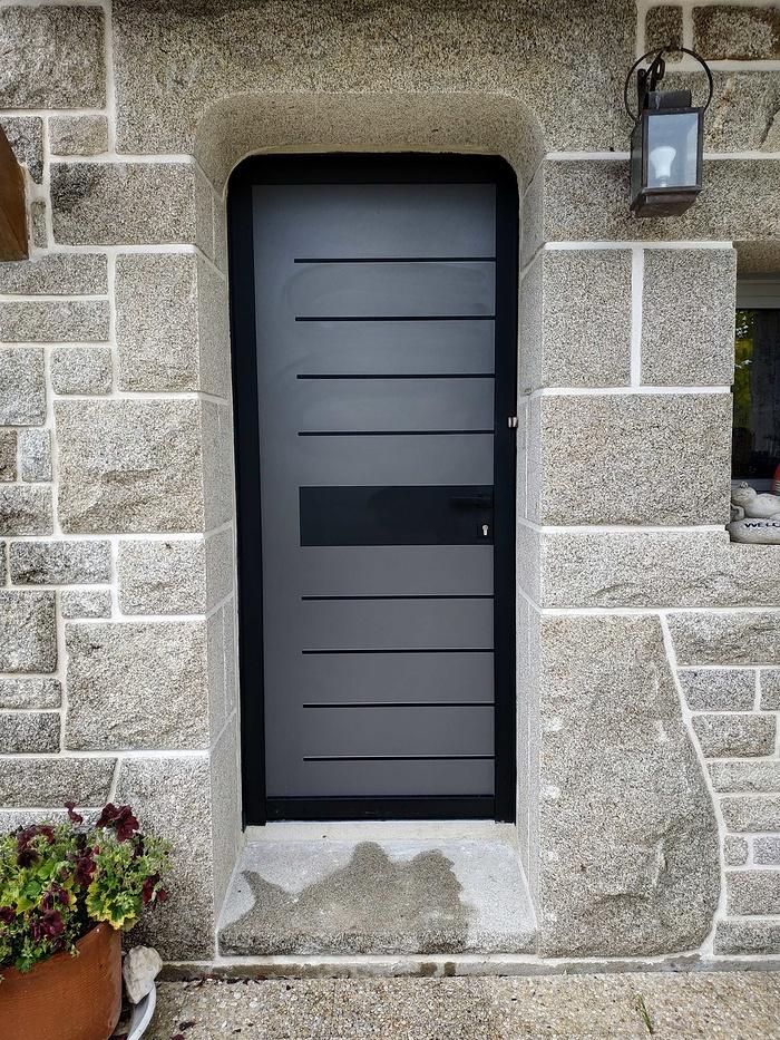 Remplacement de la porte d''entrée - Saint-Avé (56) 02bapres19