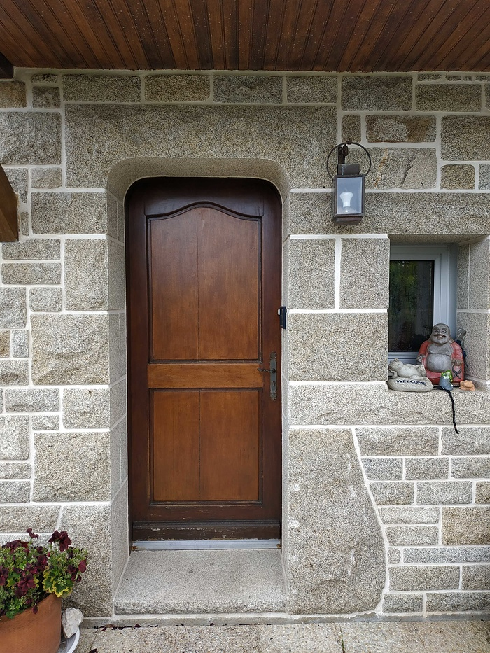Remplacement de la porte d''entrée - Saint-Avé (56) 01bavant19