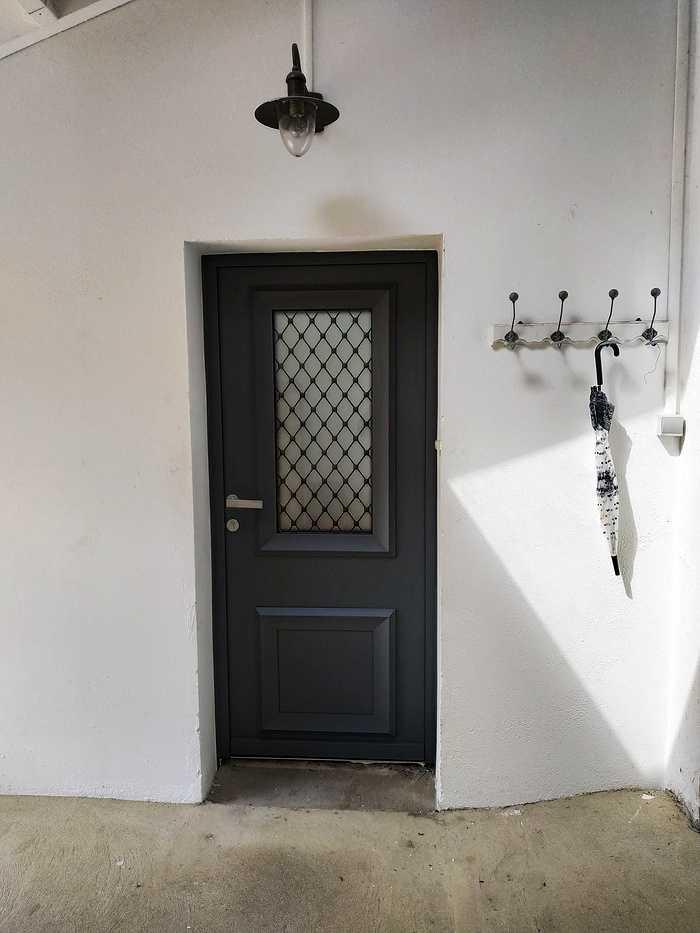 Porte d''entrée avec imposte vitré - Vannes (56) vannesh0119