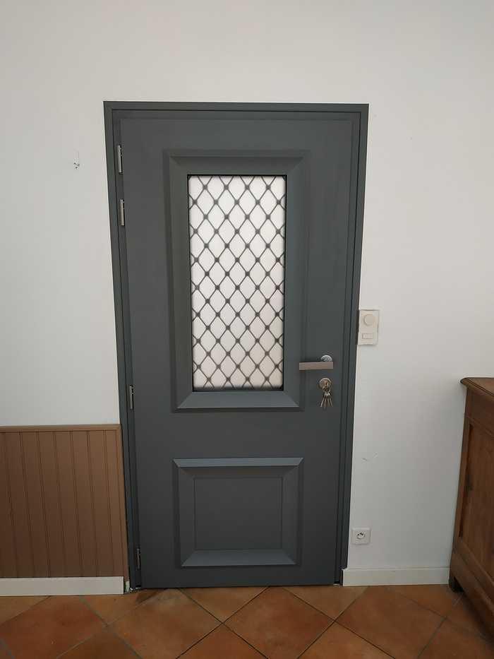 Porte d''entrée avec imposte vitré - Vannes (56) 0