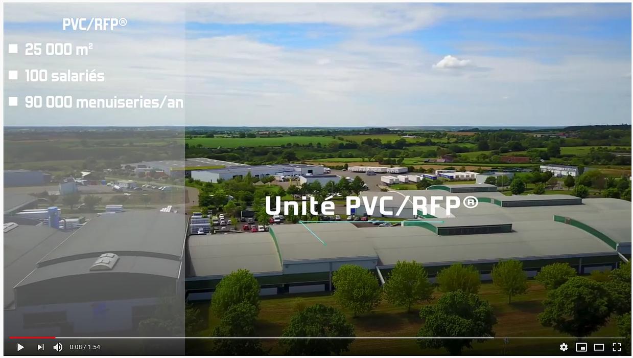 Vidéo : des menuiseries en PVC fabrication française 0
