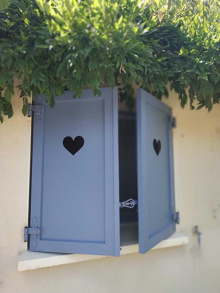 Volets battants en aluminium - Saint Anne d''Auray - 56 0