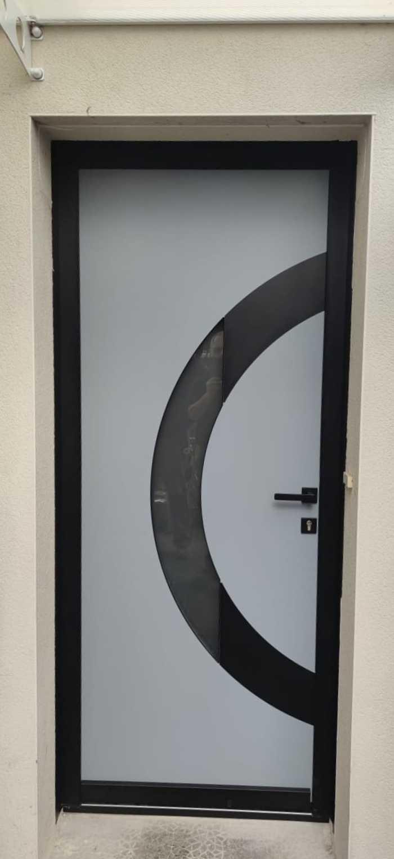 """Porte d''entrée Monalu modèle """"Lune"""" - Brech 0"""