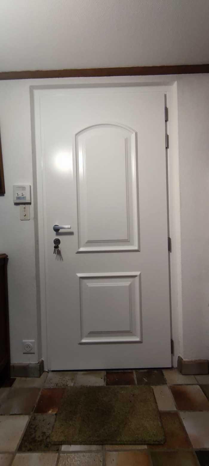 Porte d''entrée classique aluminium - Carnac 5